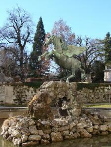 Salzburg PegasusStatue